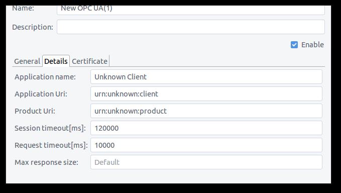Access OPC/UA servers with impulse